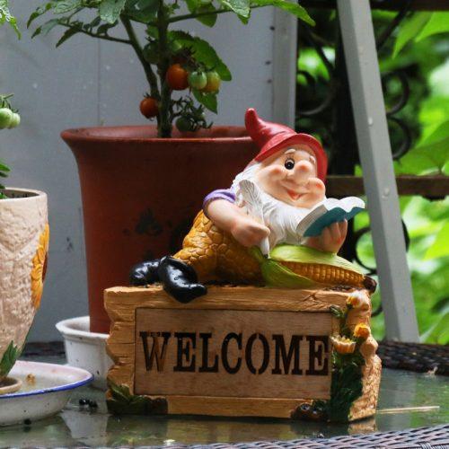 Nain De Jardin Welcome